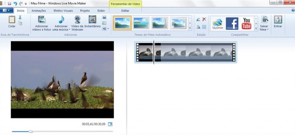 Movie Maker para Windows 7