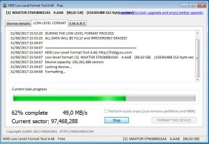 tela hdd low level format tool 4.40