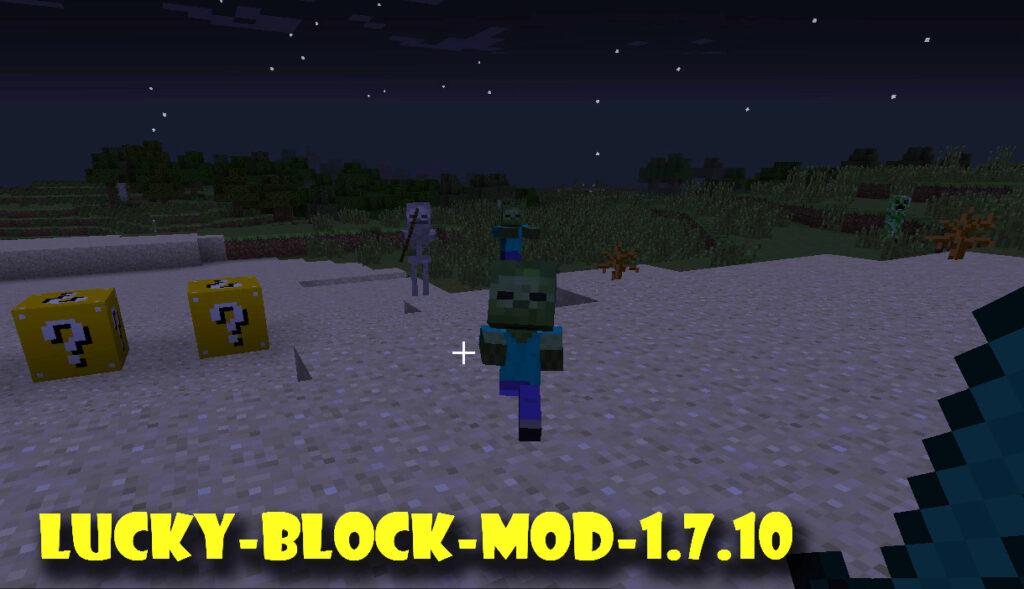 Lucky Block Mod 1.7.10