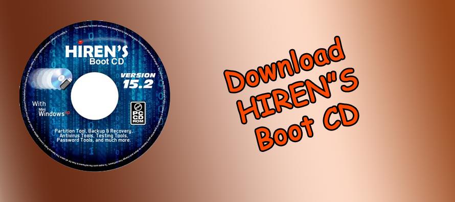 Download Hiren's BootCD 15.2 em português