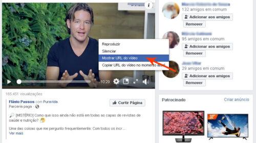Baixar vídeo facebook