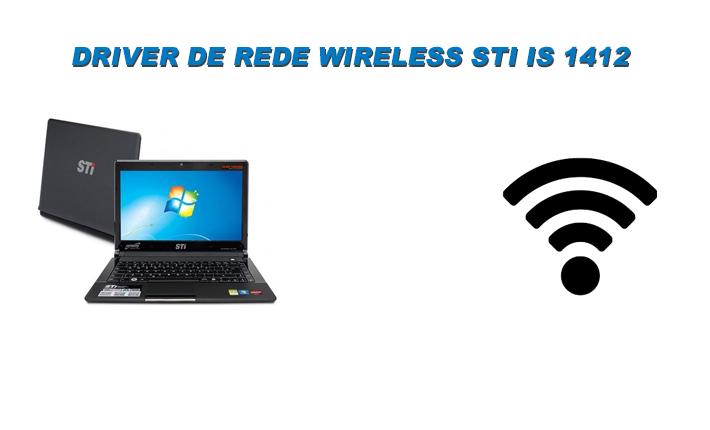 Driver de rede Wireless STI IS 1412 Windows