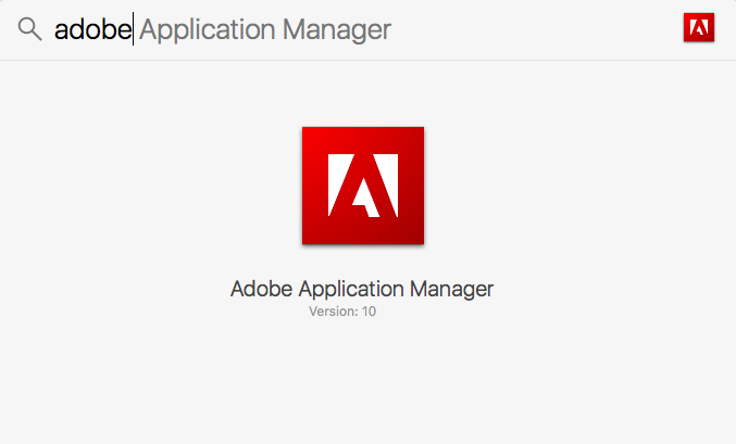 Download Adobe Application Manager