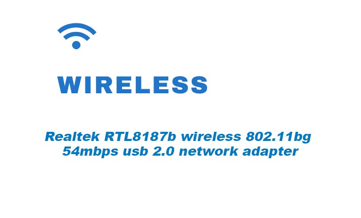 Realtek RTL8187b wireless 802.11bg 54mbps usb 2.0 network adapter